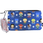 DC Zip Pouch by Loungefly - Justice League Chibi Characters