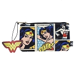 DC Zip Pouch by Loungefly - Wonder Woman Comic