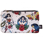 DC Zip Pouch by Loungefly - Wonder Woman Tattoo