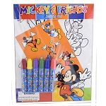 Disney Coloring Activity Set - Mickey and Friends
