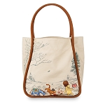 Disney Canvas Tote Bag - Classic Winnie the Pooh and Friends
