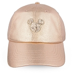 Disney Baseball Cap - Mickey Mouse - Rose Gold