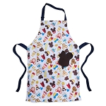Disney Apron - Disney Parks Food Icons