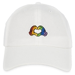 Disney Baseball Cap - Mickey Mouse - Rainbow Heart Hands