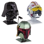 Disney 3D Model Kit - Metal Earth - Star Wars Helmet Pack - Darth Vader