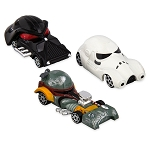 Disney Racers - Star Wars Dark Side Die Cast Set - Vader Stormtrooper and Boba Fett