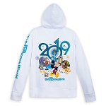 Disney Women's Hoodie - 2019 Mickey and Friends Zip Hoodie