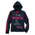 Disney Women's Hoodie - Star Wars The Force Is With You Pullover