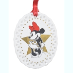 Disney Ornament - Minnie Rocks the Dots