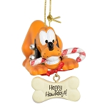 Disney Ornament - Pluto Happy Howlidays