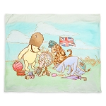 Disney Fleece Throw Blanket - Classic Winnie the Pooh and Friends