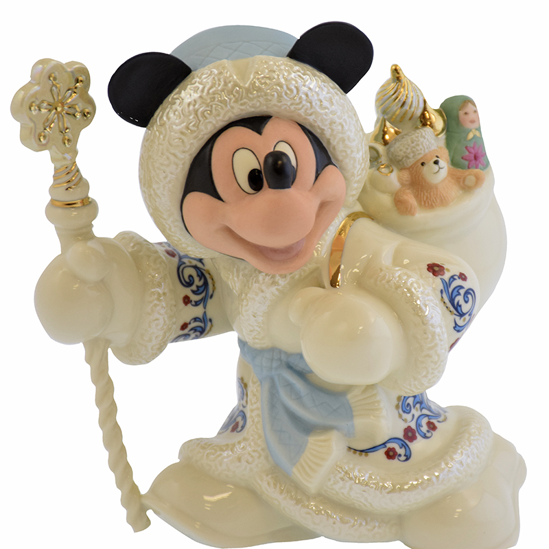 Disney Lenox Christmas Figure - Mickey as Grandfather Frost