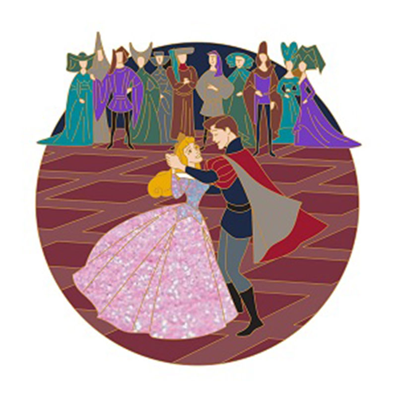 Disney Pin - Sleeping Beauty 60th Anniversary - Aurora and Prince Philip