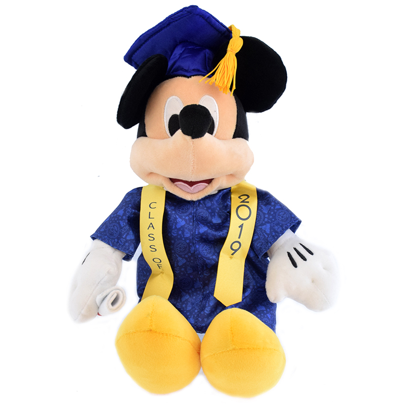 Disney Plush - Graduation Mickey - Class of 2019