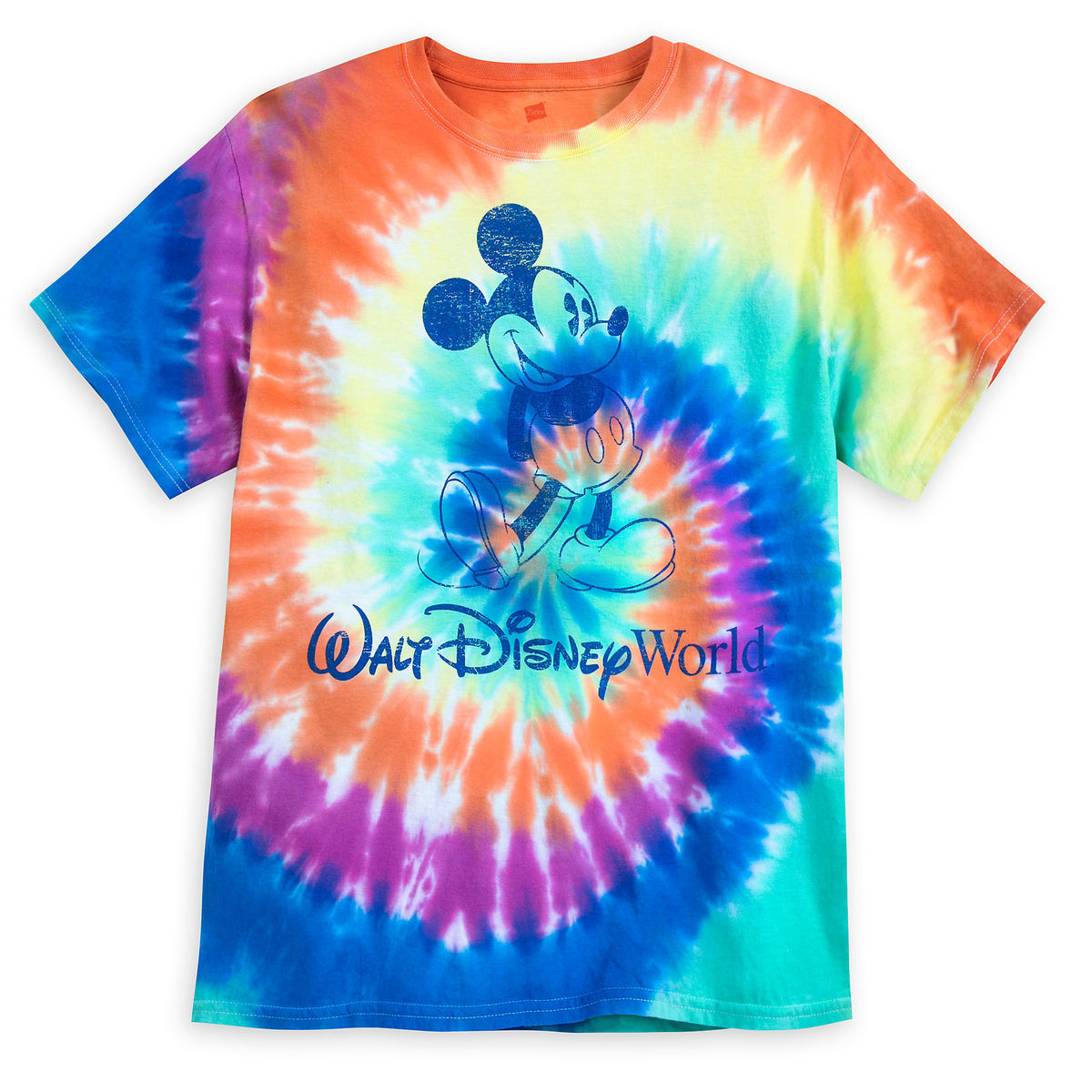 7be07bb18 Disney Adult Shirt - Mickey Mouse Tie-Dye T-Shirt