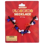 Disney Flashing Necklace - Mickey Icons
