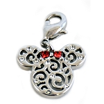 Disney Arribas Charm - Minnie Mouse Filigree