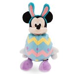 Disney Plush - Easter Egg Bunny Mickey Mouse - Small - 11''