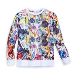 Disney Girl's Shirt - Mickey Trough the Years Long Sleeve Pullover