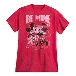 Disney Adult Shirt - Mickey and Minnie Mouse - Be Mine
