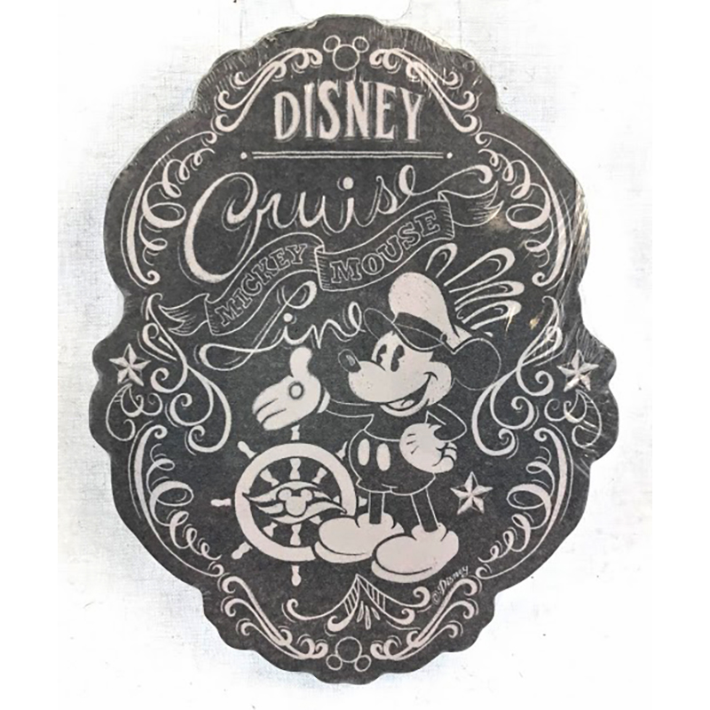 Disney Magnetic Notepad - Disney Cruise - Captain Mickey Mouse
