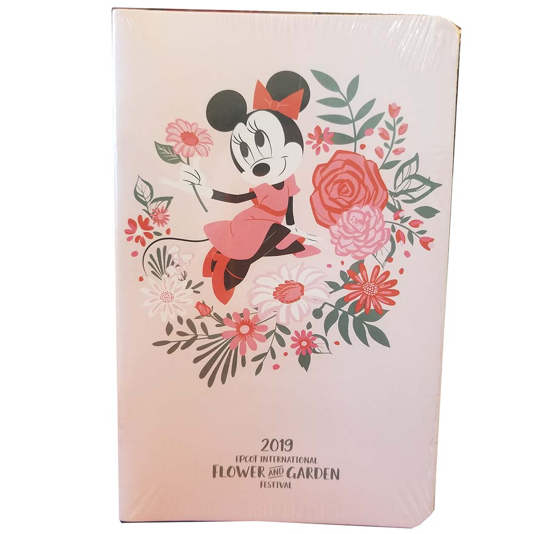 Disney Journal Set - Epcot Flower and Garden 2019 Minnie Blooms