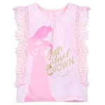 Disney Girl's Shirt - Aurora - Own Your Crown