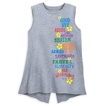 Disney Women's Shirt - it's a small world Tank Top - Goodbye