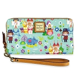 Disney Dooney & Bourke Bag - it's a small world Wallet
