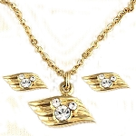 Disney Cruise Line Necklace - DCL Logo - Earrings and Necklace Set