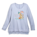 Disney Women's Shirt - Tigger United Kingdom Scoop Neck Shirt