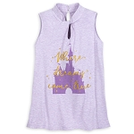 Disney Women's Shirt - Cinderella Castle Keyhole Tank Top