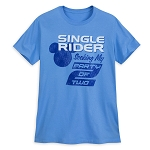 Disney Adult Shirt - Single Rider Mickey Mouse T-Shirt