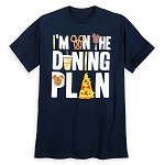 Disney Adult Shirt - I'm On The Dining Plan