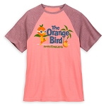 Disney Adult Shirt - Orange Bird Raglan Shirt
