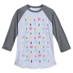 Disney Adult Shirt - Mad Tea Party Raglan Baseball T-Shirt