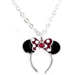 Disney Necklace - Minnie Mouse Bow Headband