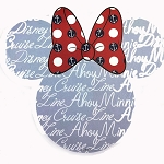 Disney Notepad - Disney Cruise Line - Ahoy Minnie