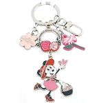 Disney Keychain - Epcot Flower and Garden 2019 Minnie Blooms