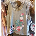 Disney Ladies Shirt - Epcot Flower and Garden 2019 Minnie Blooms Tank