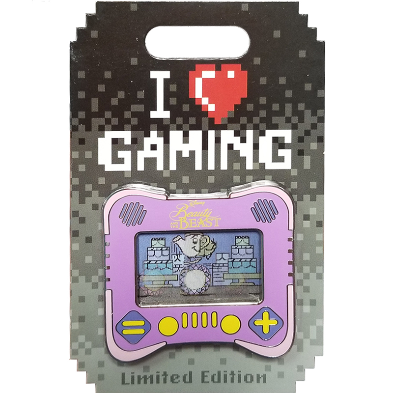 Disney I Heart Gaming Pin - #06 Beauty and the Beast
