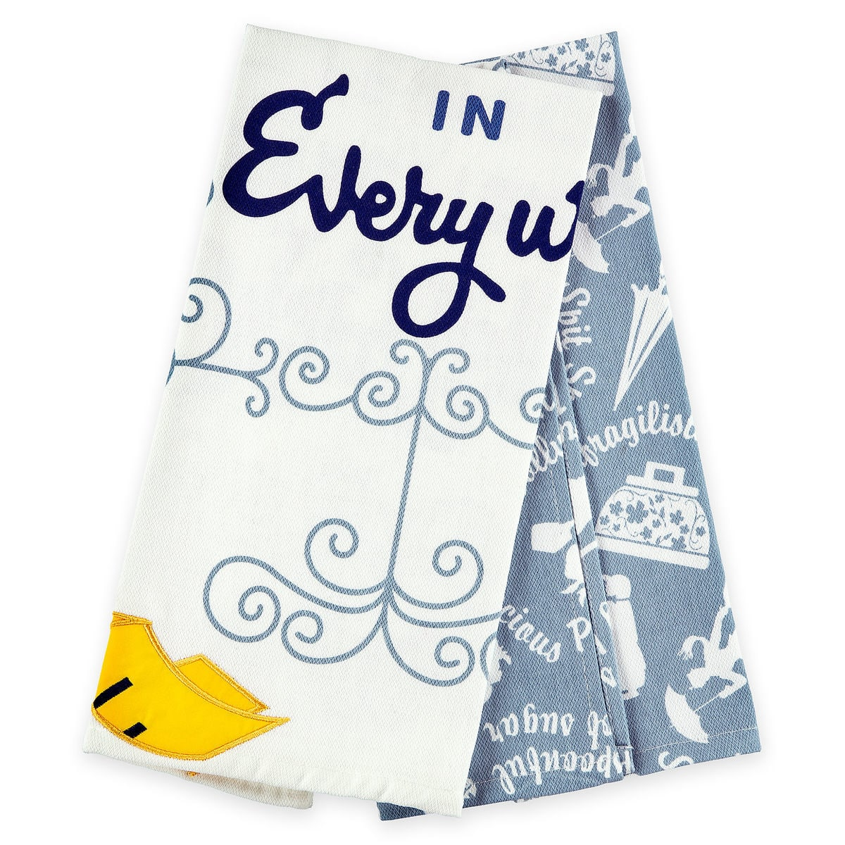 Disney Kitchen Towel Set Mary Poppins Practically Perfect