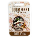 Disney Flower and Garden Pin - 2019 Mickey Logo
