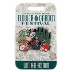 Disney Flower and Garden Pin - 2019 Minnie's Garden
