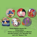 Disney Mystery Pin - Disguises - 1 Reveal 1 Conseal