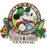 Disney Magnet - Epcot Flower and Garden Mickey's Seed Co.