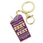 Disney Keychain - Epcot Flower and Garden 2019 Violet Lemonade