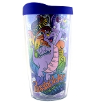 Disney Tervis Tumbler with Lid - Epcot Flower and Garden 2019 Figment Passholder