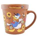 Disney Coffee Cup Mug - Epcot Flower and Garden 2019 Donald and Spike