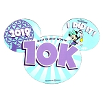 Disney Auto Magnet - WDW 10K Marathon 2019 - Minnie Mouse - I Did It!